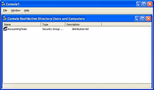 Active distribution console instrukciiskachatis - Console active directory ...